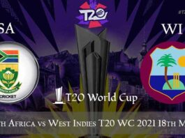 South Africa vs West Indies Live Telecast, T20 World Cup 2021, SA vs WI
